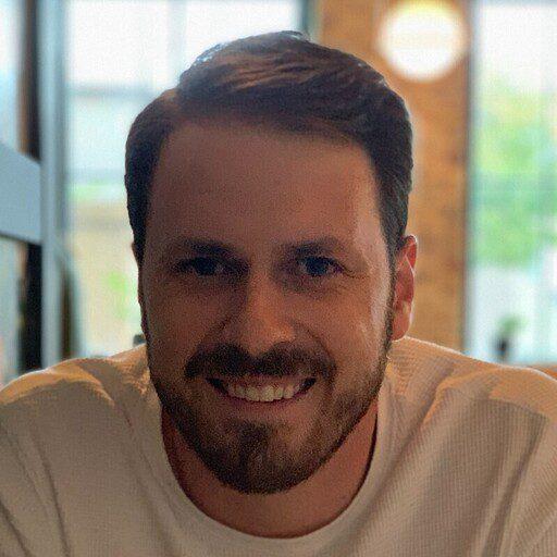 A headshot of Trent