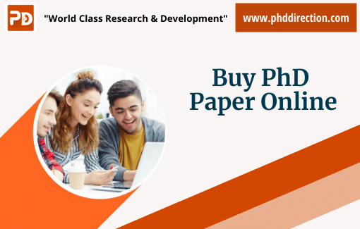 Buy PhD Research Paper Online