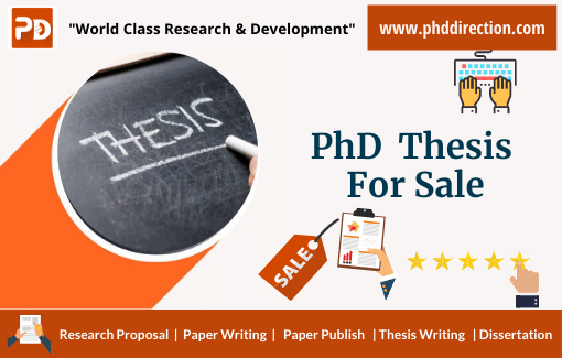 Buy PhD Thesis for Sale