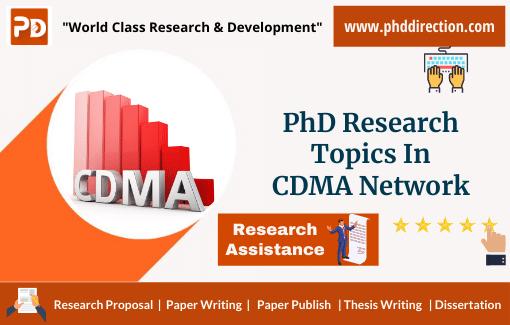 Latest PhD Research Topics in CDMA Network