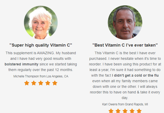 Vitamin C Boost reviews