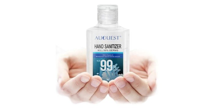 Auquest hand sanitizer for COVID19