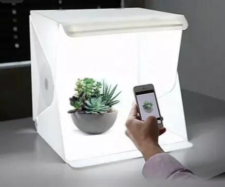 Cabine Portátil com Led para fotos para E-Commerce