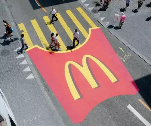 Marketing de Guerrilha - Case McDonalds