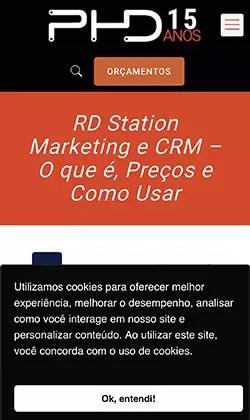 Inserção de Alerta de Cookies no site via RD Station Marketing