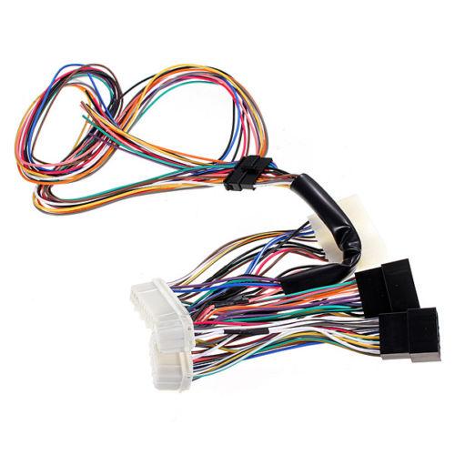 Stereo Wiring Harness On Honda Obd0 To Obd1 Conversion Harness Diagram
