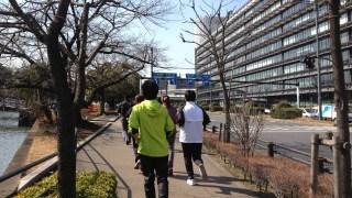 月イチ恒例イベント 3月は『マーケティング講座』研修&『皇居周回ランニング』!!