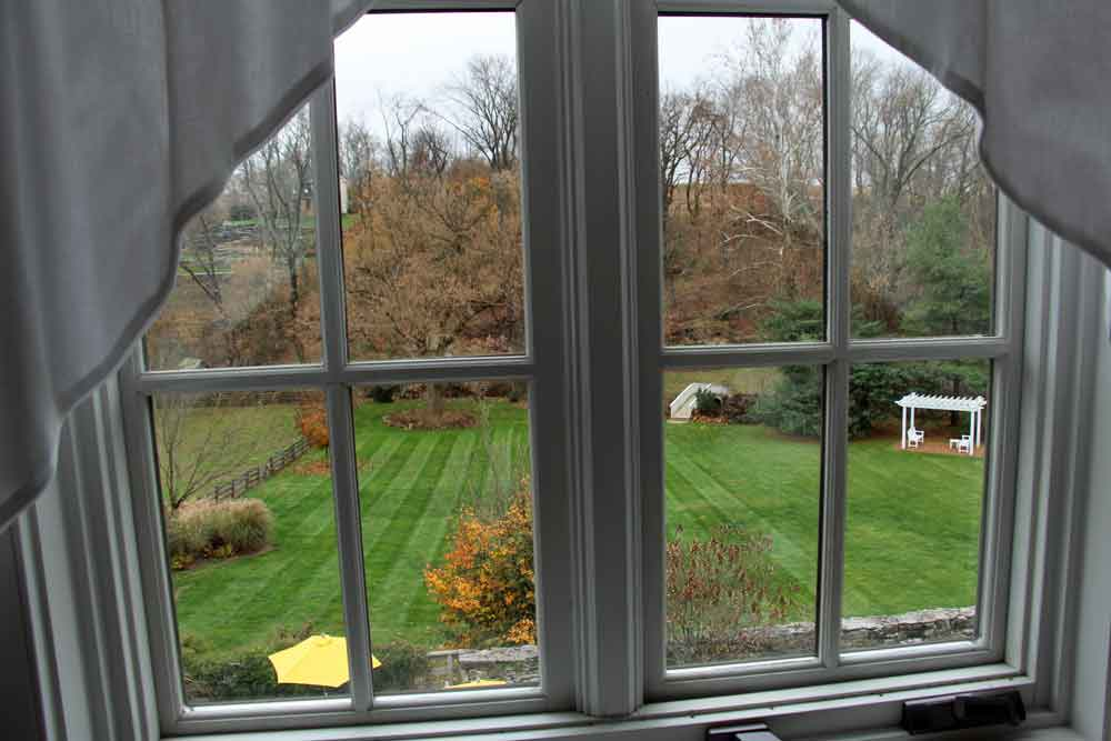 View from Olivia's Roon - Lancaster PA Bed and Breakfast