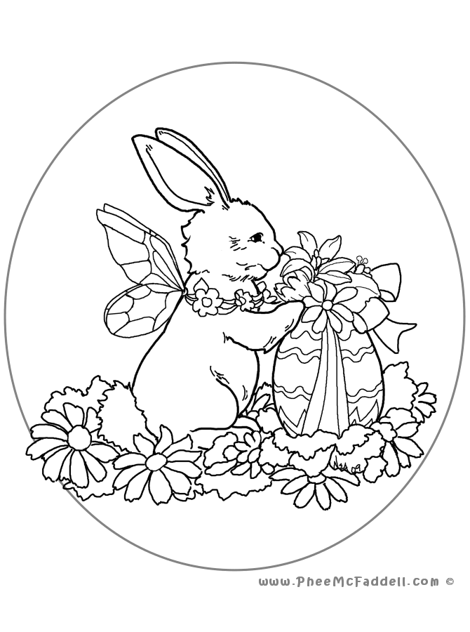 Oval coloring pages