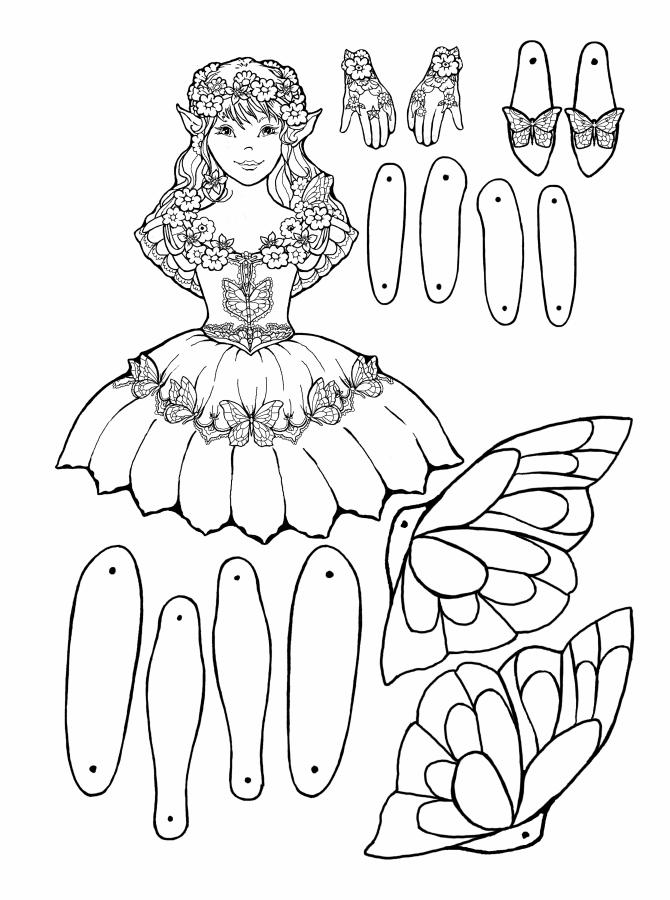 Garden Fairy Puppet