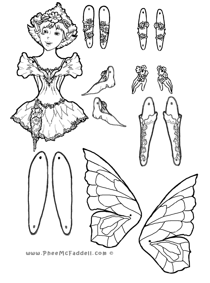 Marionette Coloring Pages