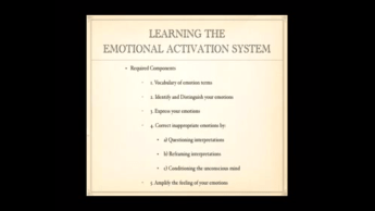 emotional activation system