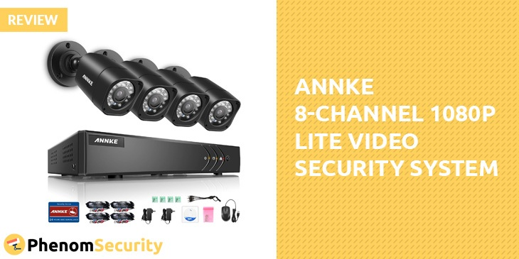 Annke 8-Channel 1080P Lite Video Security System