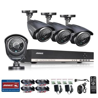 Annke 8CH 1080N AHD DVR/1080P NVR Security System