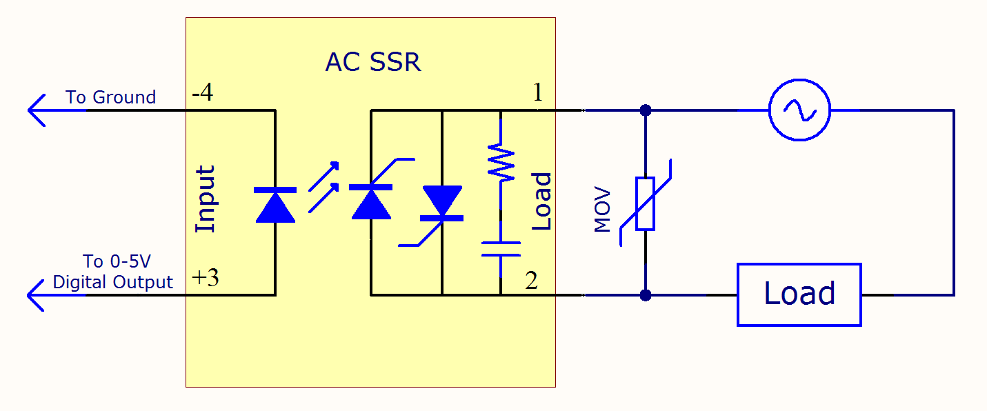 reverse light wiring diagram transformer diagrams single phase solid state relay primer - phidgets support