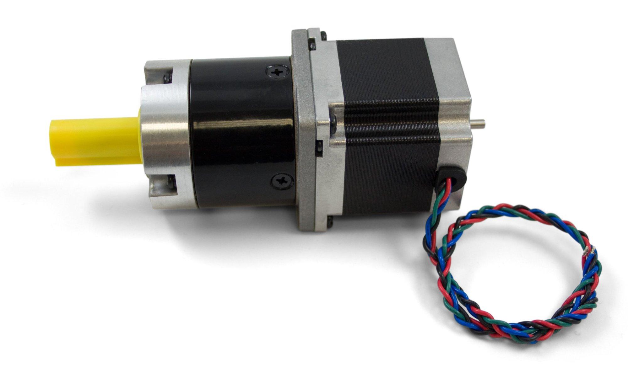 hight resolution of nema23 bipolar stepper motor