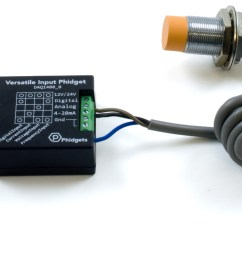 for a sensor with a simple output that switches to logic high pnp or switches to ground npn this input provides a 10 k internal resistance to pull  [ 3948 x 1291 Pixel ]