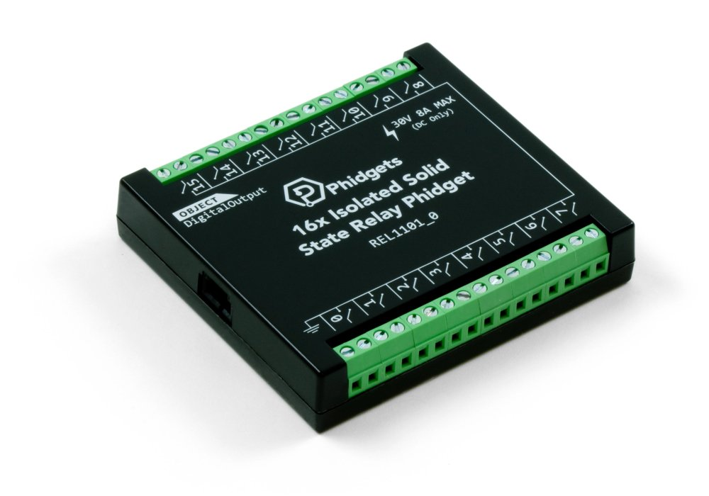 medium resolution of 16x isolated solid state relay phidget rel1101 0 at phidgets 30 amp solid state relay diagram