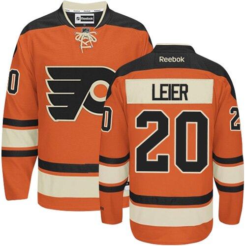 Youth Philadelphia Flyers #20 Taylor Leier Black Alternate Premier Hockey Jersey