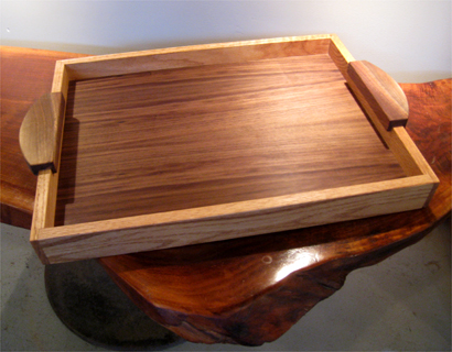 Gorgeous Hardwood Serving Tray  Philadelphia Woodworks