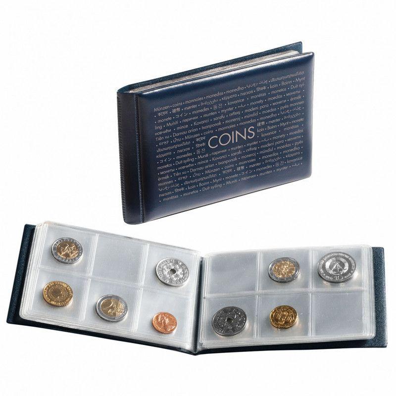 album de poche pour ranger 48 monnaies de collection