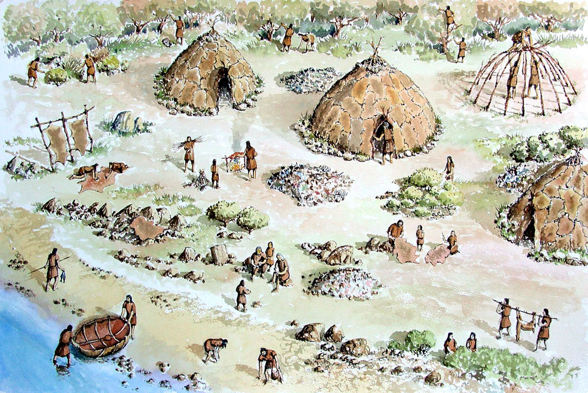 Paint The Past Archaeological And Historical Reconstruction And Illustration Prehistoric Sites