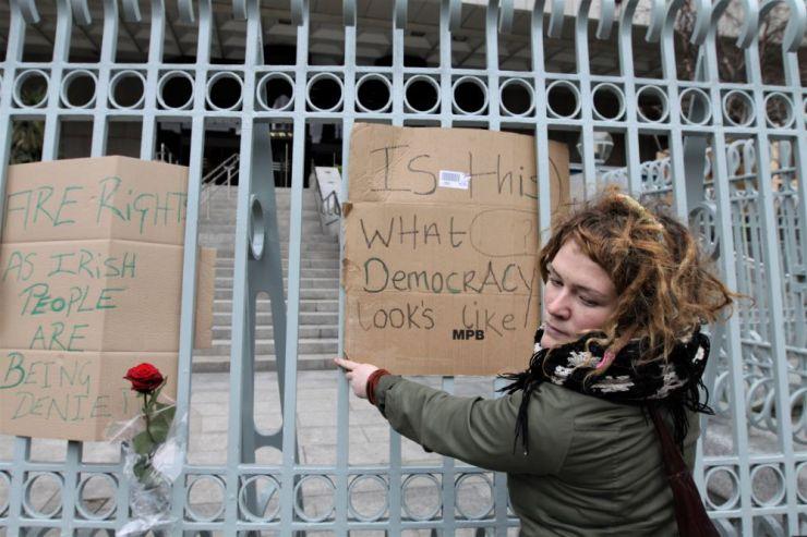 Occupy Dame Street