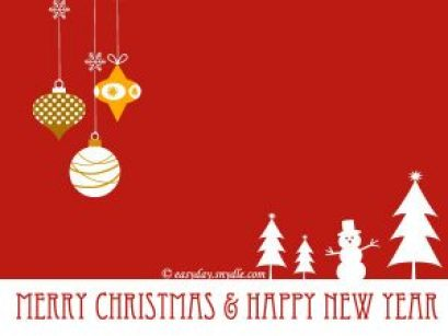 2016 Merry Christmas and Happy New Year!