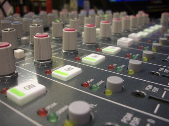 Mixing Console by Phil Edmonds