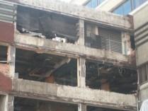 Taken October 3 2012. BBC Manchester Oxford Road Demolition
