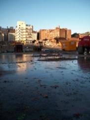 Taken December 5th 2012. Demolition site, BBC Oxford Road Manchster