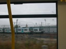 Vintage Trams in Depot