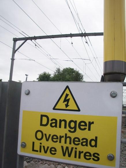 Danger Overhead wires