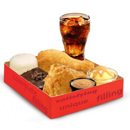 2pcs Fully Loaded By KFC Delivery To Manila Philippines