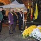 Commémoration du Ravivage de la Flamme à Cérous-Mousty