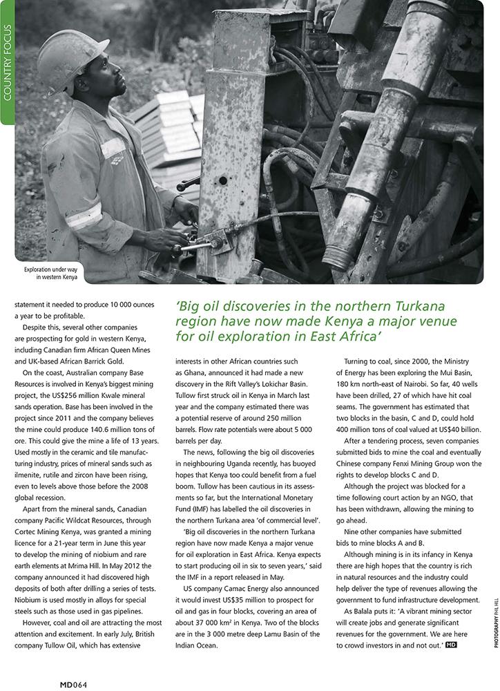 Mining Decisions magazine