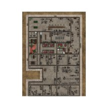 Deadlands Noir Map Hotel Manor - Boutique Philibert