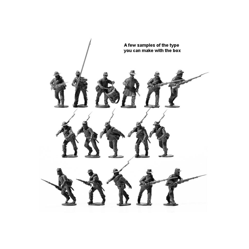 American Civil War Confederate Infantry