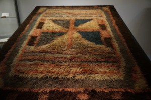 A Taatit rug from Shetland