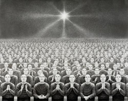 'Delusion Dwellers' by Laurie Lipton
