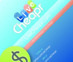 LIVE CHEAPR VISITE kaart