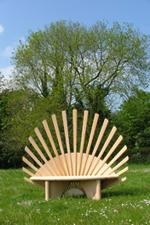 Sculptural Garden Furniture Quirky Garden Benches In Wood Sustainable Handmade Wooden Garden