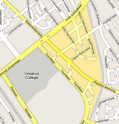Localisation Brocante 2009