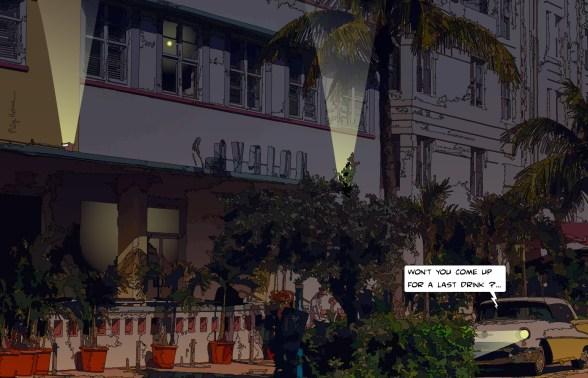 Miami // Avalon night -- Medium 90x60 229€ // Large 140x90 449€