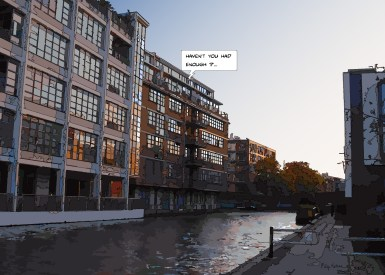 Canal buildings -- Medium 100x70 259€ // Large 140x100 429€