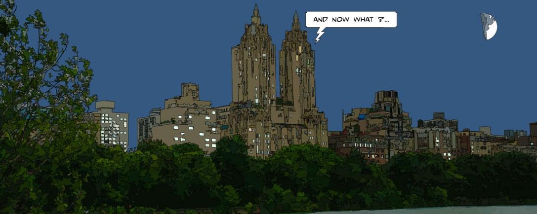 Central Park building -- Medium 80x30 159€ // Large 160x60 399€