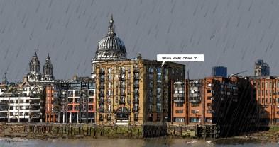 Dockside crisis -- Medium 100x50 229€ // Large 170x90 479€