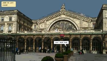 Gare de l'Est -- Medium 90x50 219€ // Large140x80 429€