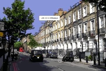 London Life -- Medium 110x70 319€