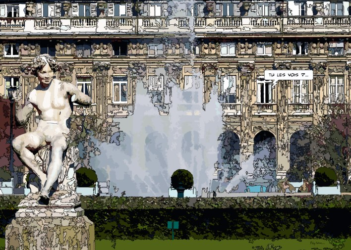 Palais royal -- Medium 80x60 219€ // Large 140x100 459€